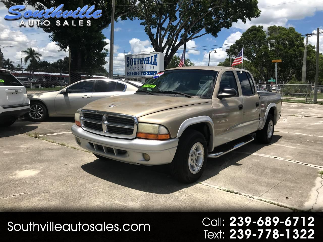 Dodge Dakota 2WD Crew Cab SLT 2002
