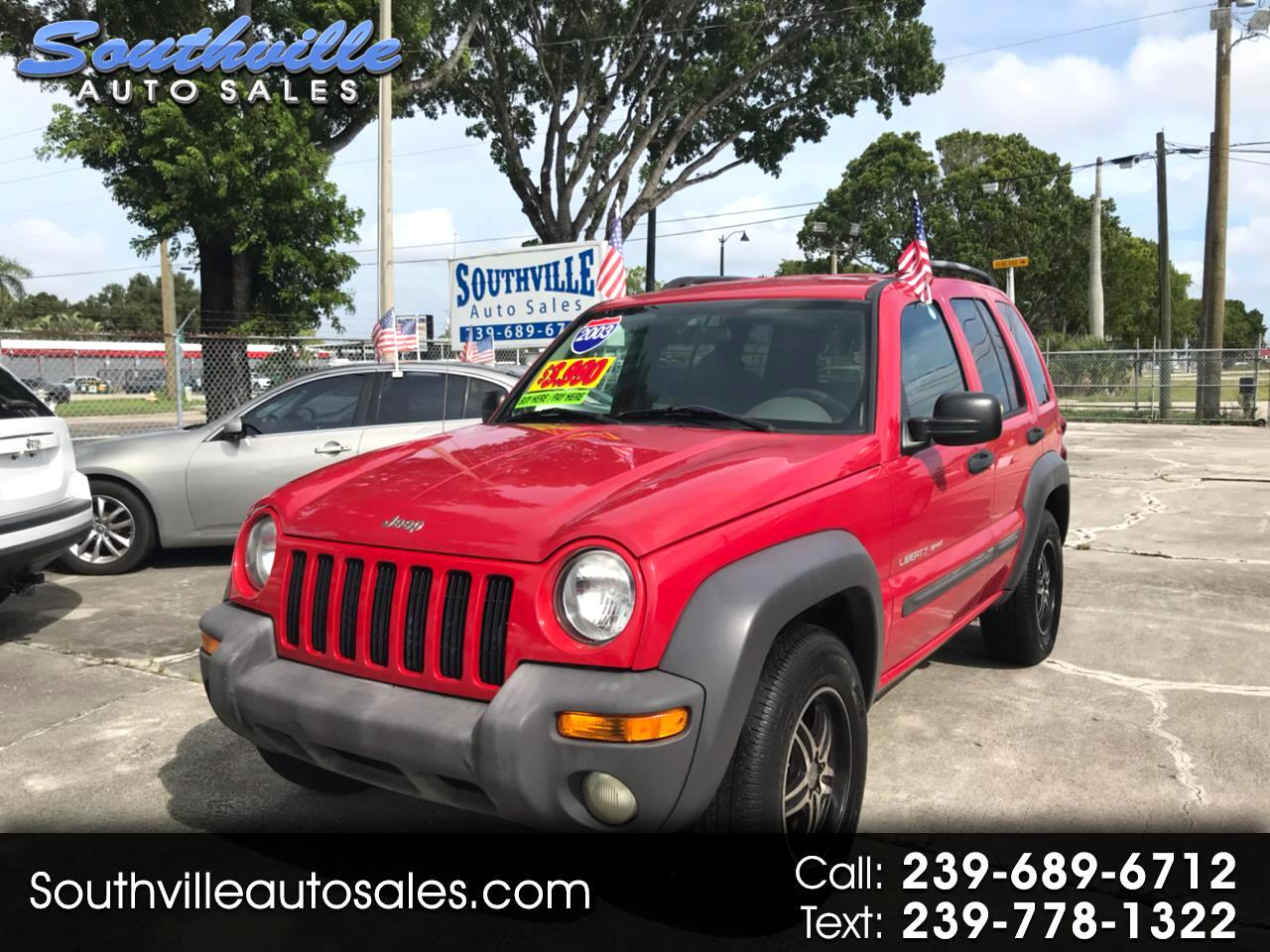 Jeep Liberty Sport 2WD 2003