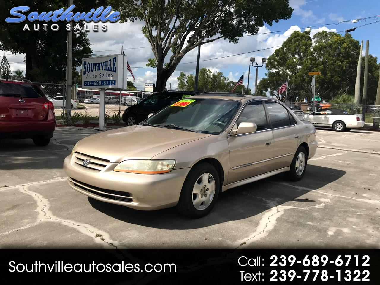Honda Accord EX V6 sedan 2002