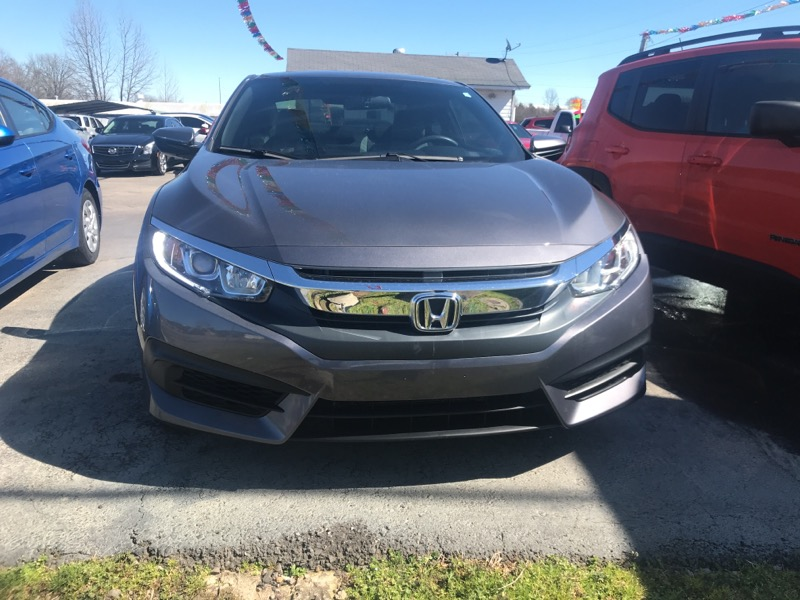 2017 Honda Civic LX-P Coupe CVT