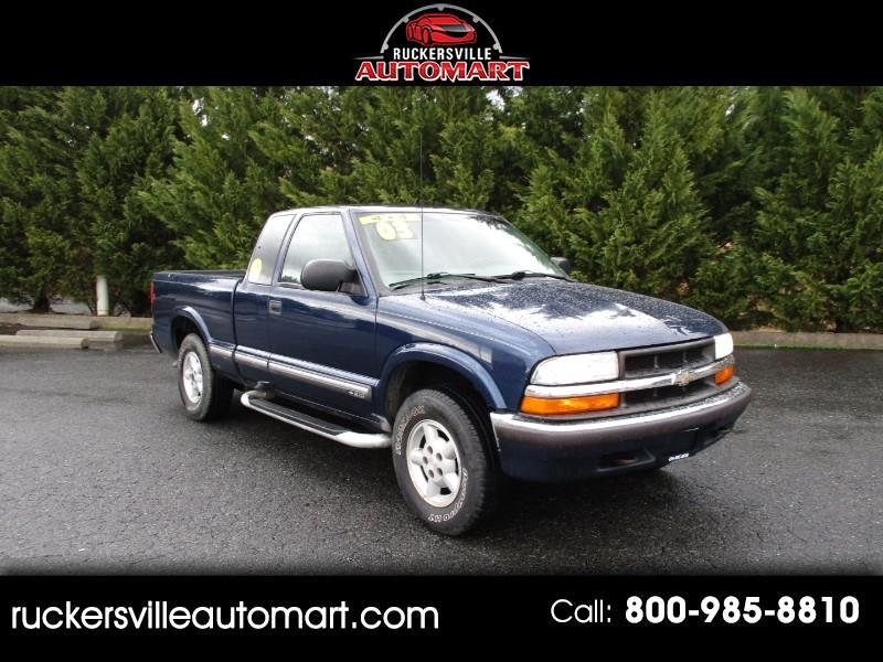 Chevrolet S10 Pickup Ext. Cab 4WD 2003