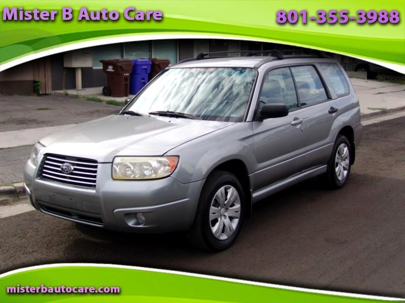 Used 2008 Subaru Forester 2 5X for Sale in Salt Lake City UT