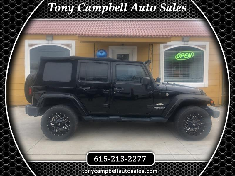 Jeep Wrangler Unlimited Sahara 2WD 2008