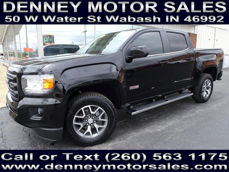 2019 GMC Canyon All Terrain Crew Cab w/Leather Short Box 4WD