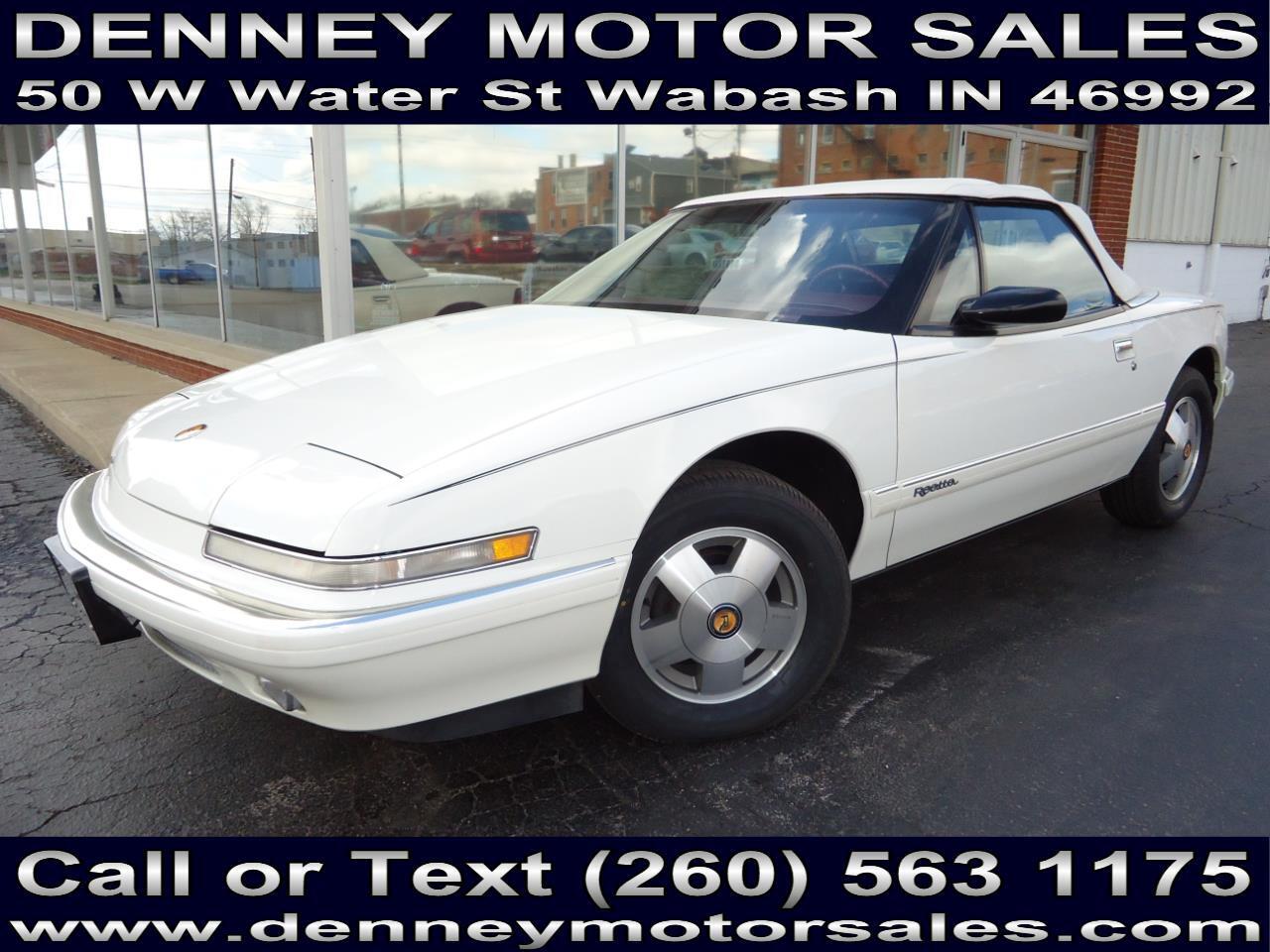 Buick Reatta Convertible 1990
