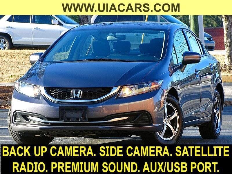2015 Honda Civic SE Sedan CVT
