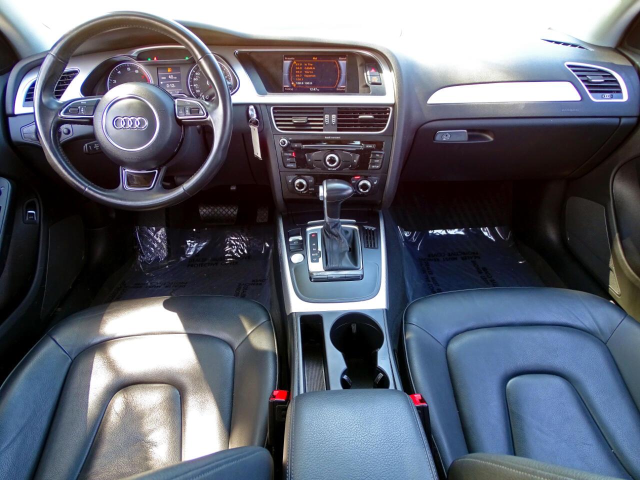 2016 Audi A4 Auto quattro 2.0T Premium