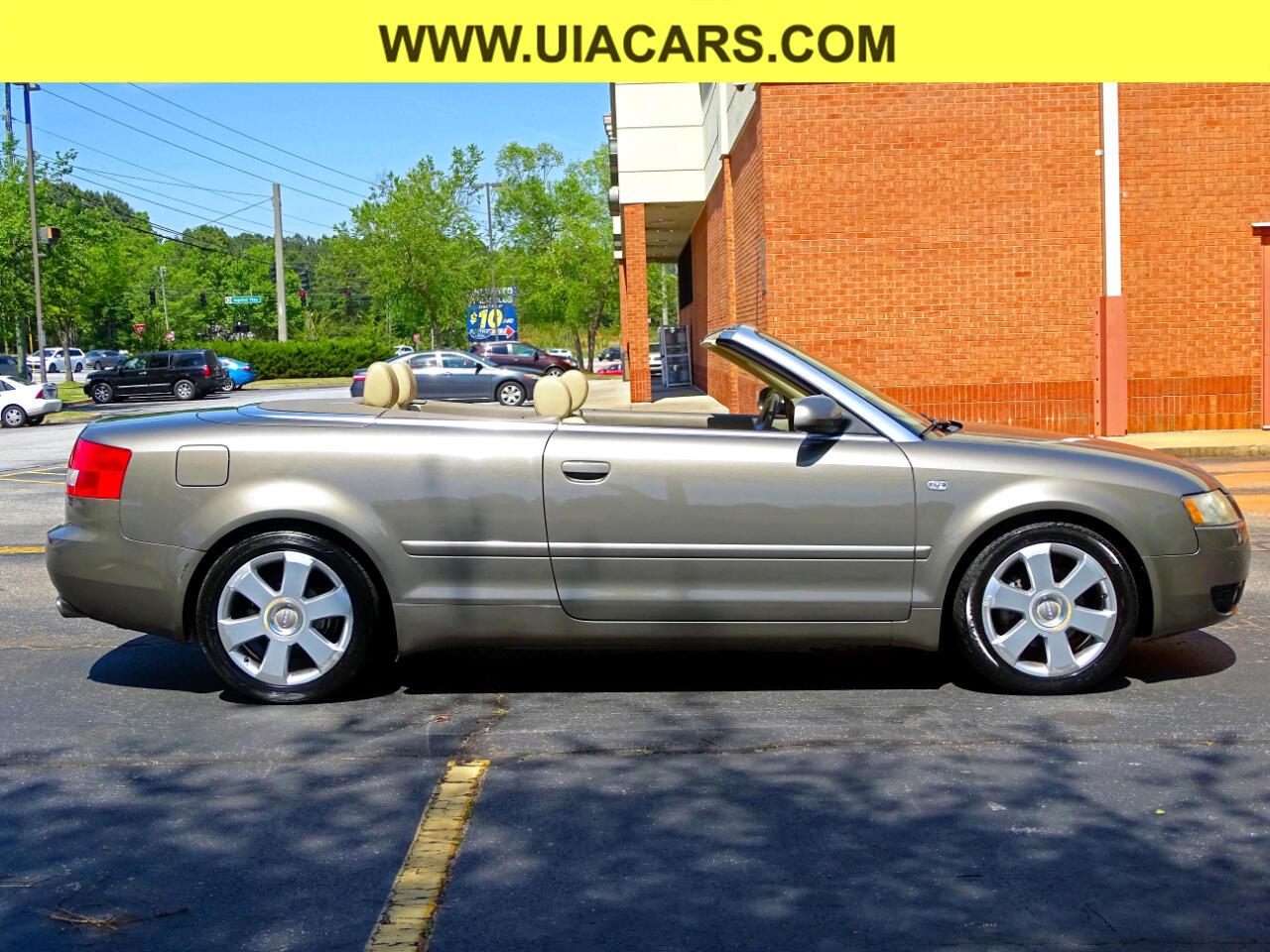 2006 Audi A4 2dr Cabriolet 1.8T CVT