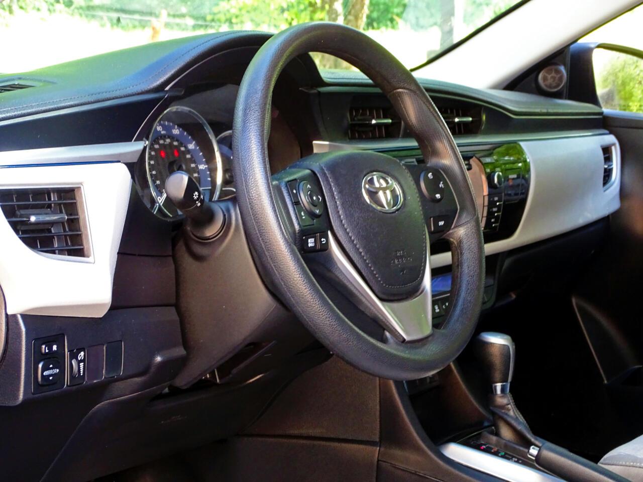 2016 Toyota Corolla 4dr Sdn CVT S w/Special Edition Pkg (Natl)