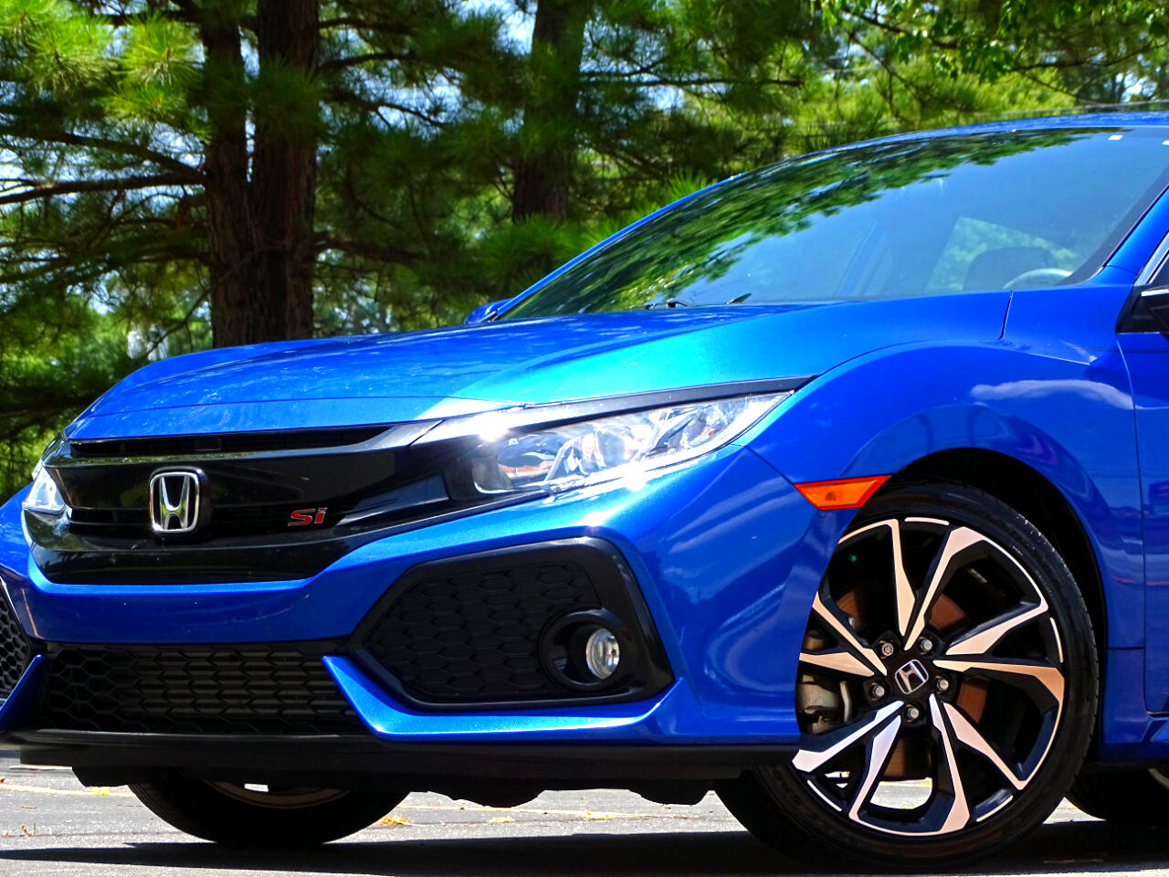 2018 Honda Civic Si Sedan Manual w/High Performance Tires