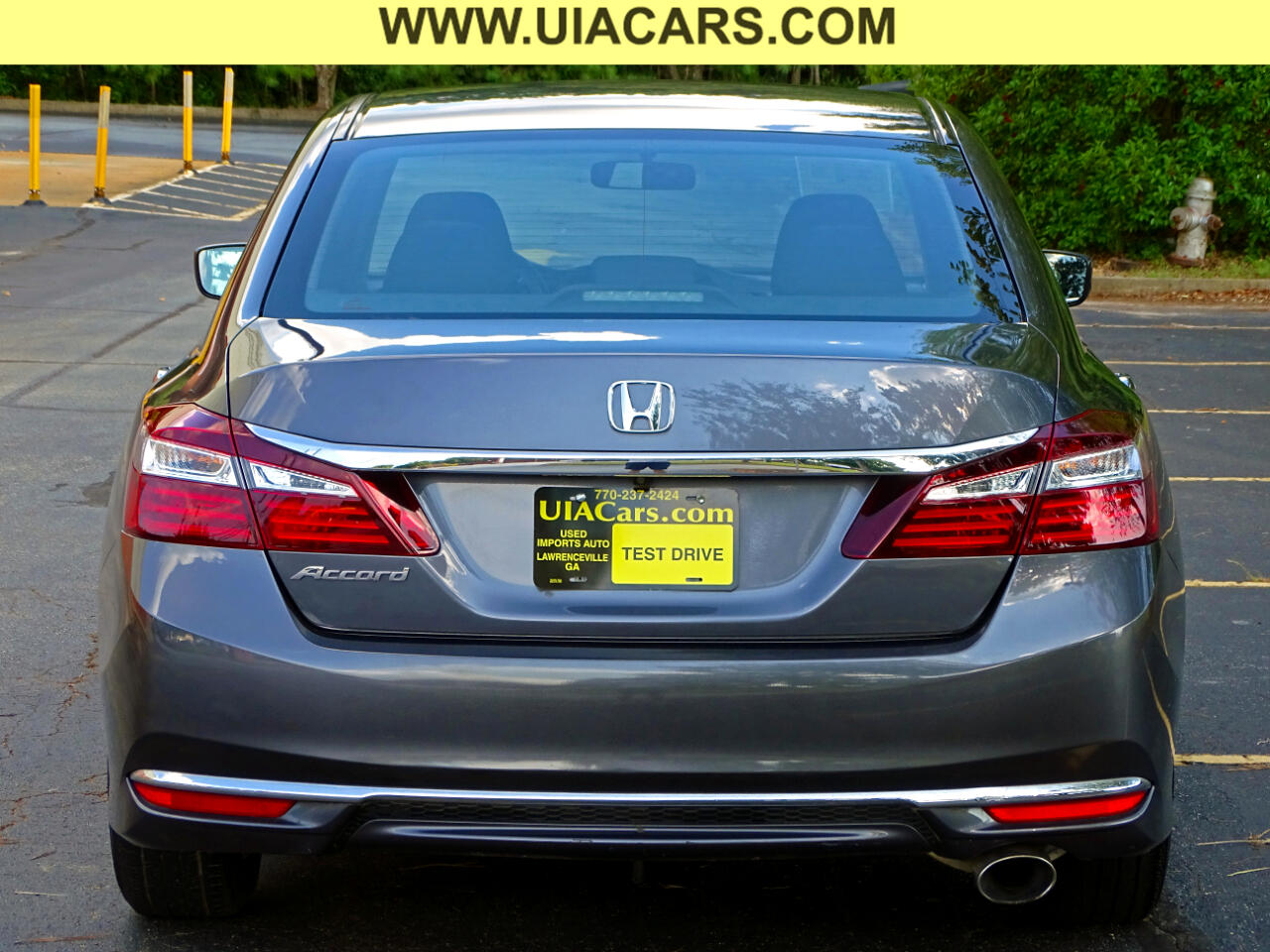 2016 Honda Accord Sedan 4dr I4 CVT LX