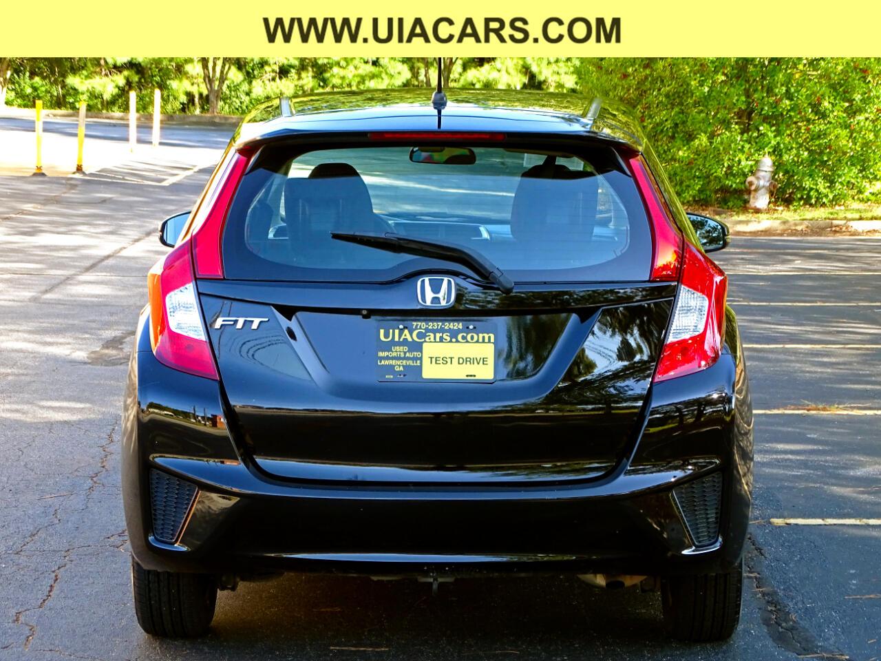 2015 Honda Fit 5dr HB CVT LX