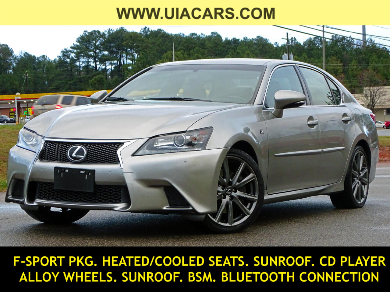 Lexus GS 350 4dr Sdn Crafted Line AWD 2015