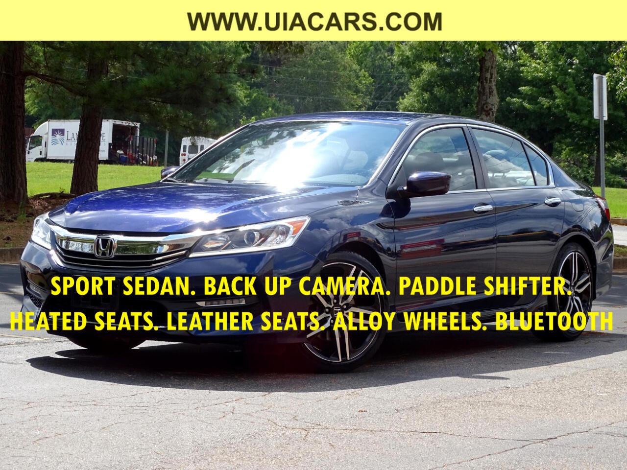 Honda Accord Sedan Sport SE CVT 2017