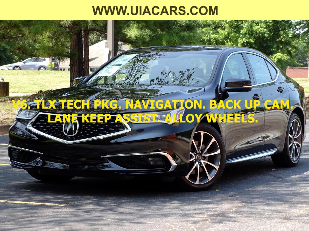 Acura TLX 3.5L FWD w/Technology Pkg 2018