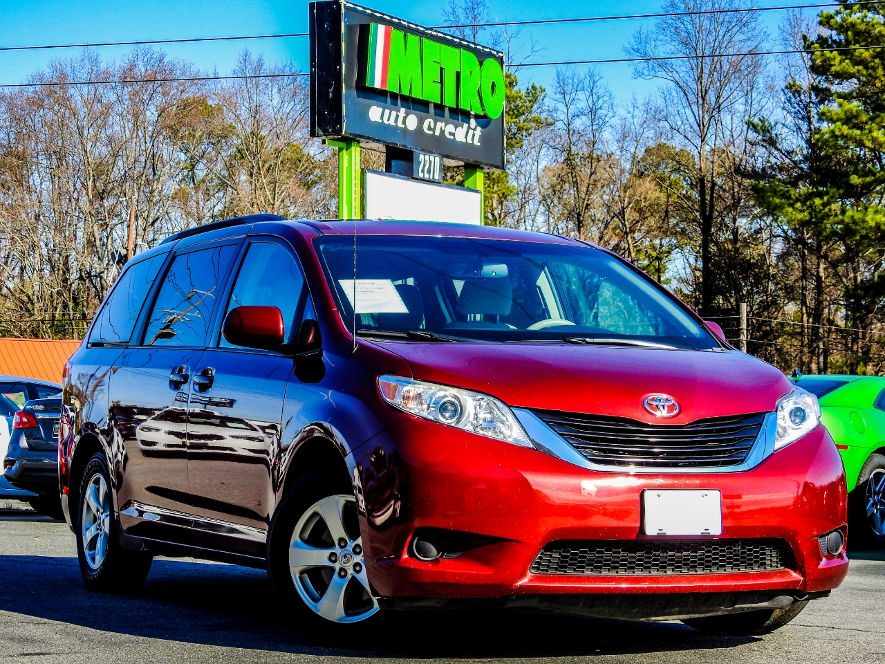 2013 Toyota Sienna 5dr 7-Pass Van V6 LE FWD (Natl)