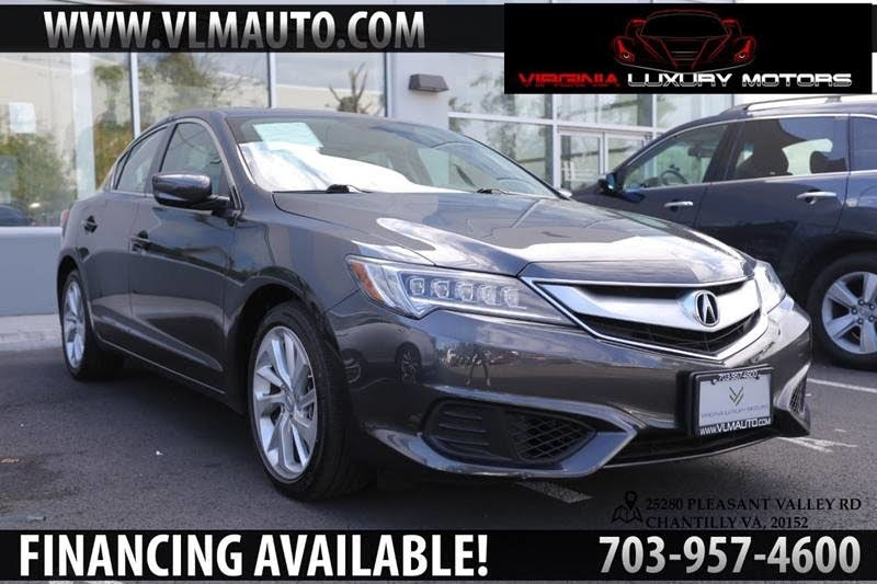 2016 Acura ILX 8-Spd AT w/ Premium Package