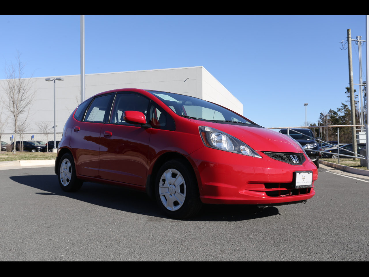 2012 Honda Fit 5dr HB Man