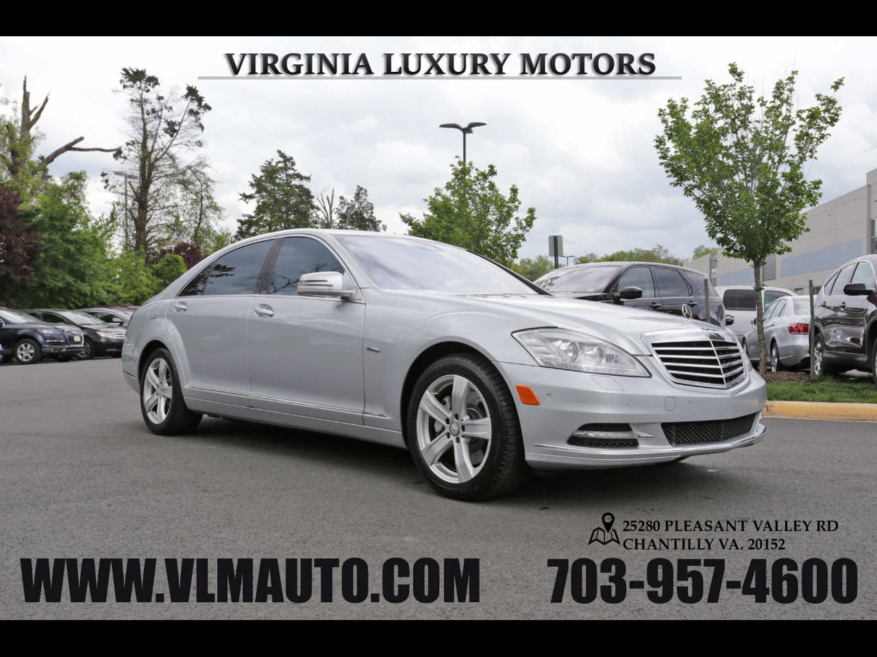 2012 Mercedes-Benz S-Class S 550 LUXURY