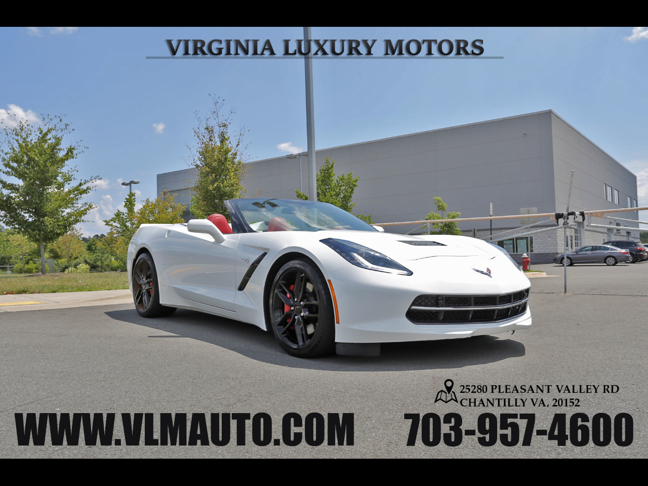 2016 Chevrolet Corvette 2dr Stingray Z51 Conv w/3LT