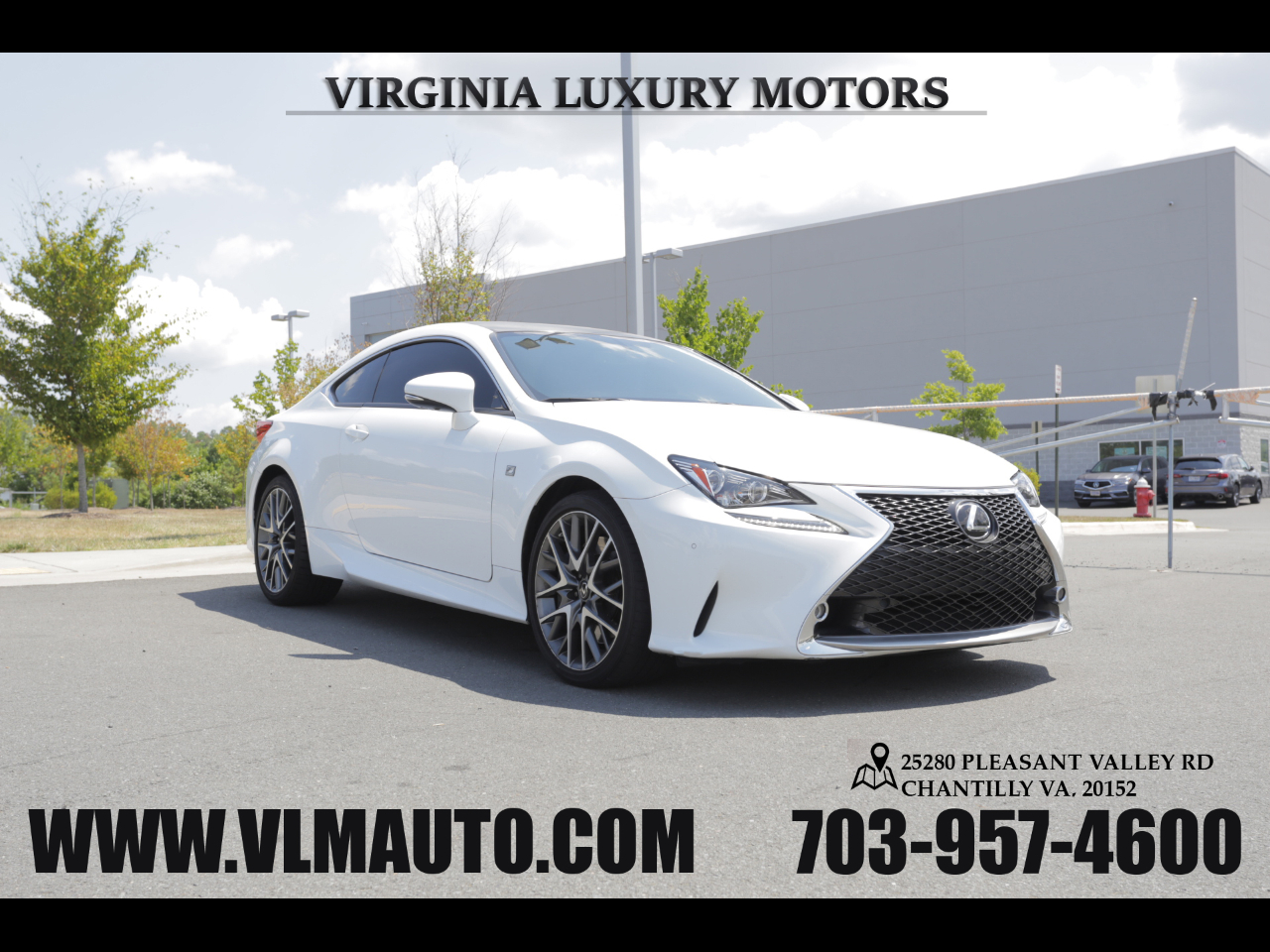 2015 Lexus RC 350 F-Sports Package