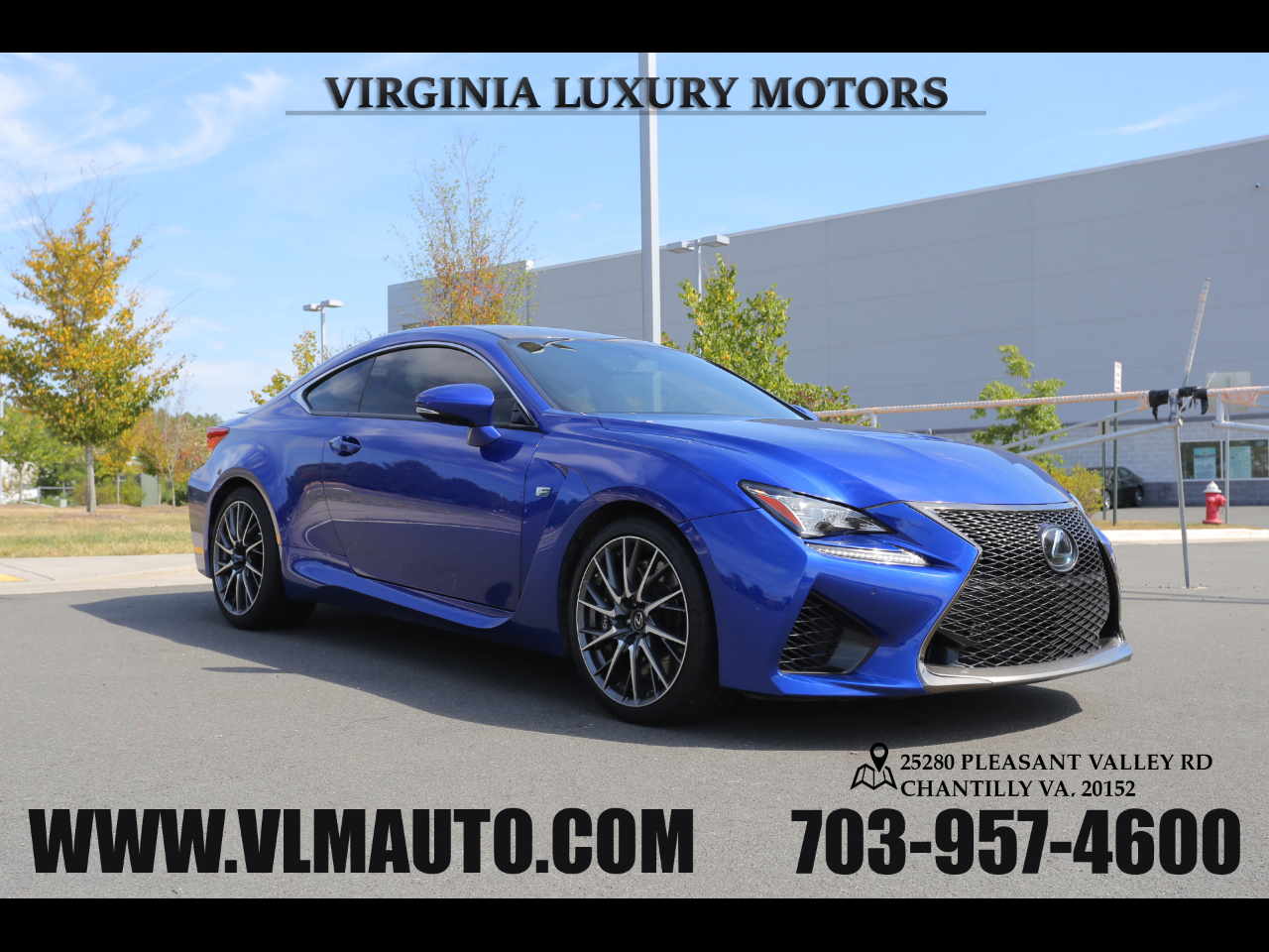 2015 Lexus RC F F-Sport Package