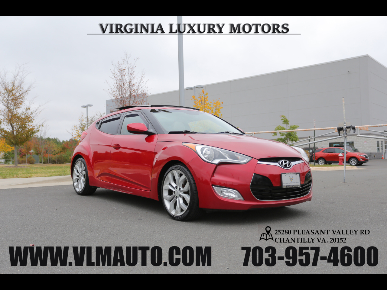 Hyundai Veloster 3dr Cpe Man w/Gray Int 2012