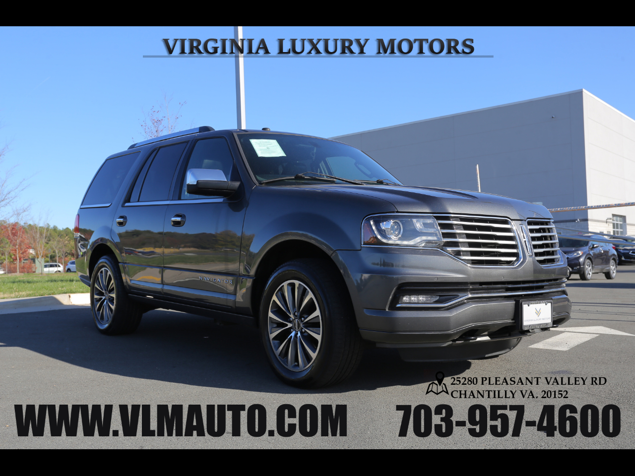 Lincoln Navigator 4WD 4dr Select 2016