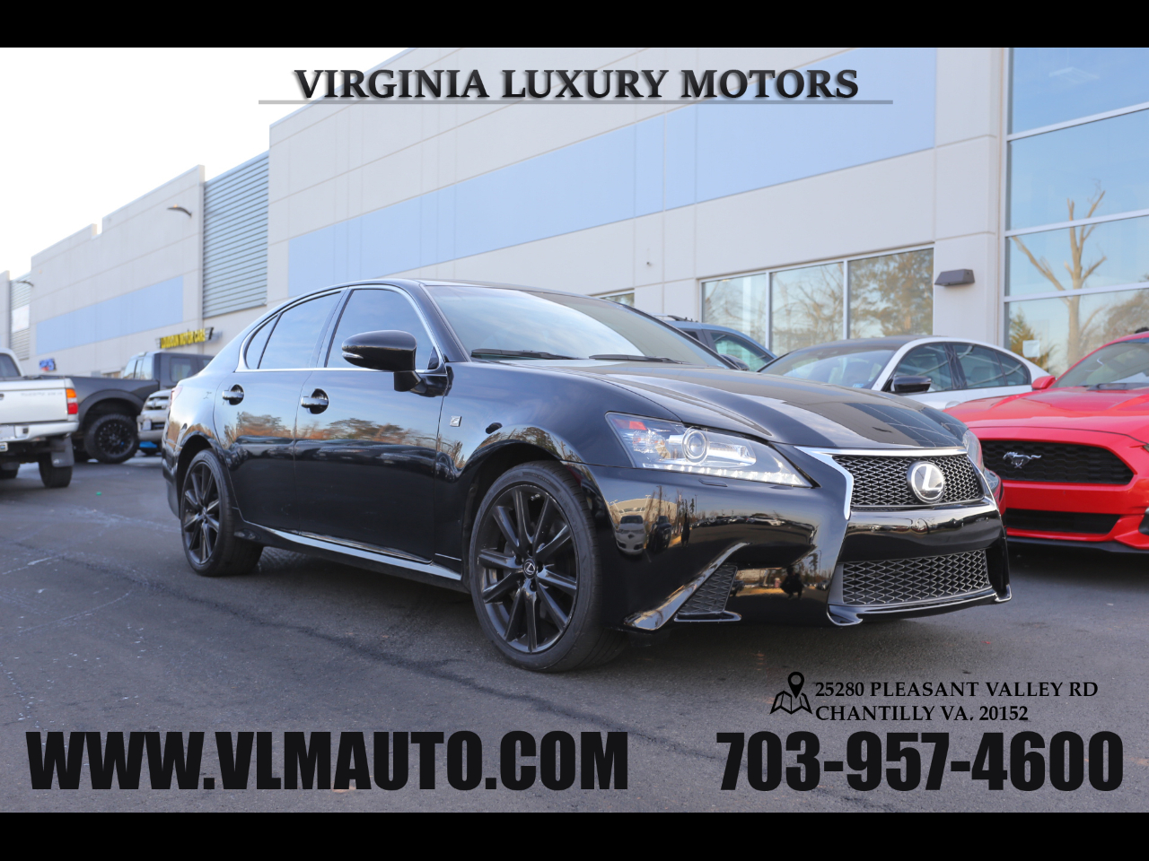 2014 Lexus GS 350 F-Sport Package AWD