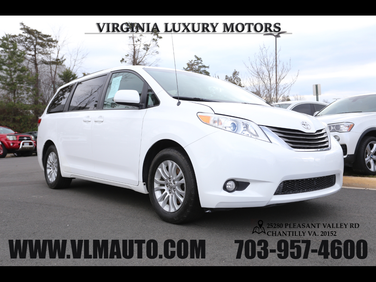 Toyota Sienna 5dr 7-Pass Van V6 XLE AAS FWD (Natl) 2014