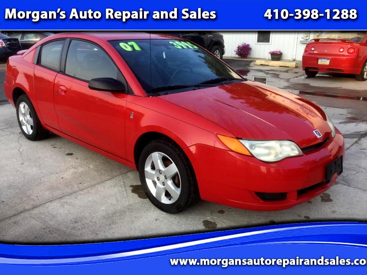 Saturn ION 2 Quad Coupe Manual 2007