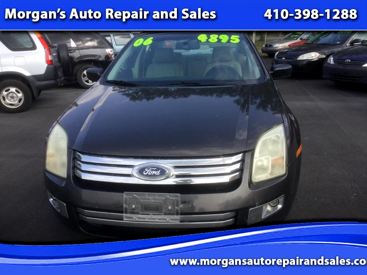 Ford Fusion V6 SEL 2006