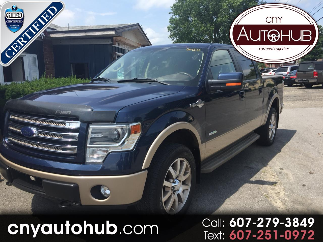 Ford F-150 King-Ranch SuperCrew 5.5-ft. 4WD 2014