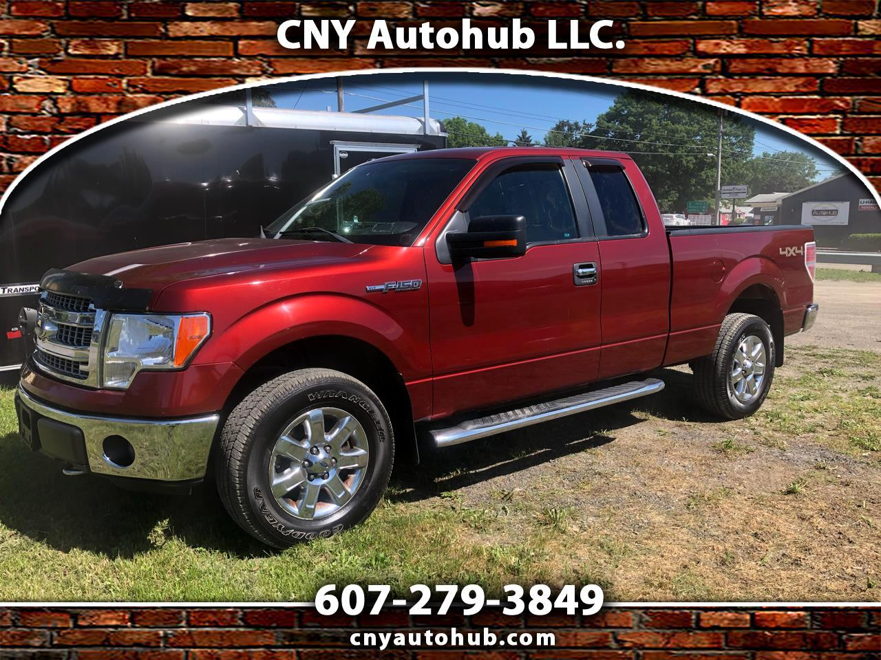 """Ford F-150 4WD SuperCab 145"""" Lariat 2014"""