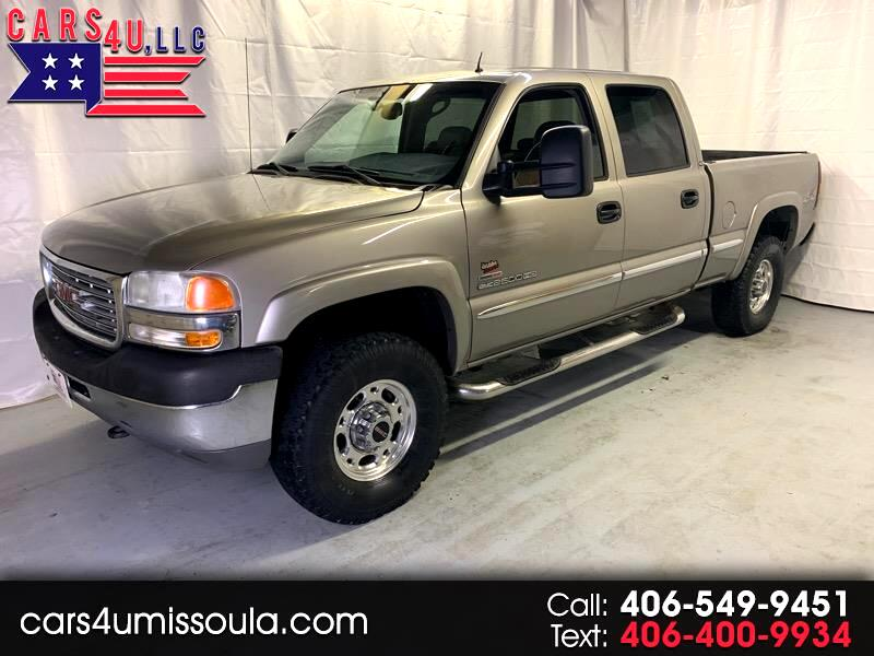 2002 GMC Sierra 2500HD SL Crew Cab Short Bed 4WD