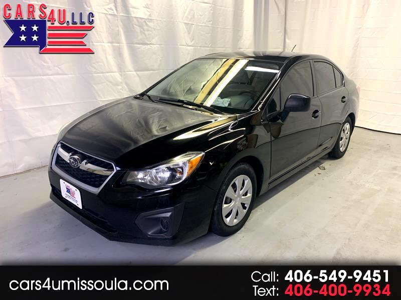 2014 Subaru Impreza Base 4-Door