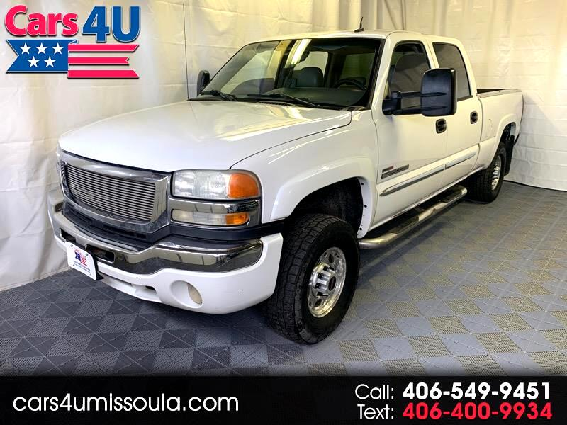 2004 GMC Sierra 2500HD SLT Crew Cab Short Bed 4WD