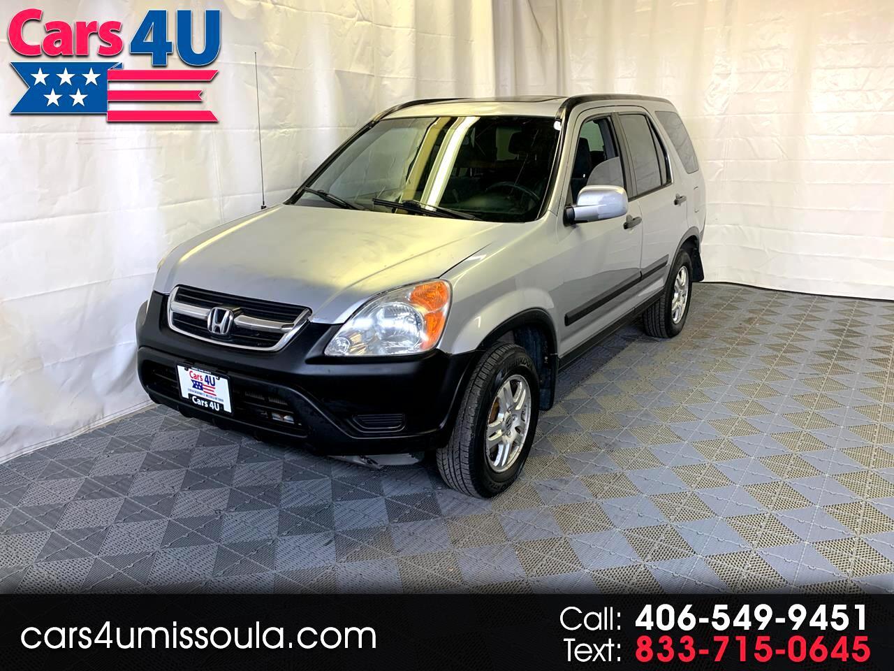 Honda CR-V EX 4WD 2002