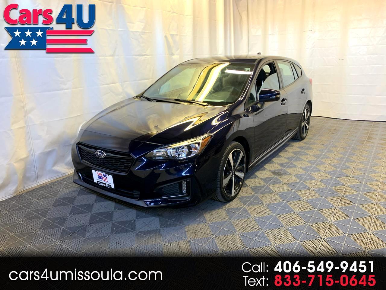 Subaru Impreza 2.0i Sport 5-door CVT 2019