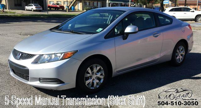 2012 Honda Civic LX Coupe 5-Speed MT