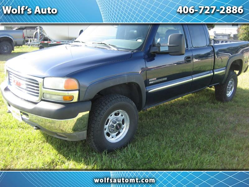 2001 GMC Sierra 2500HD SL Ext. Cab Short Bed 4WD