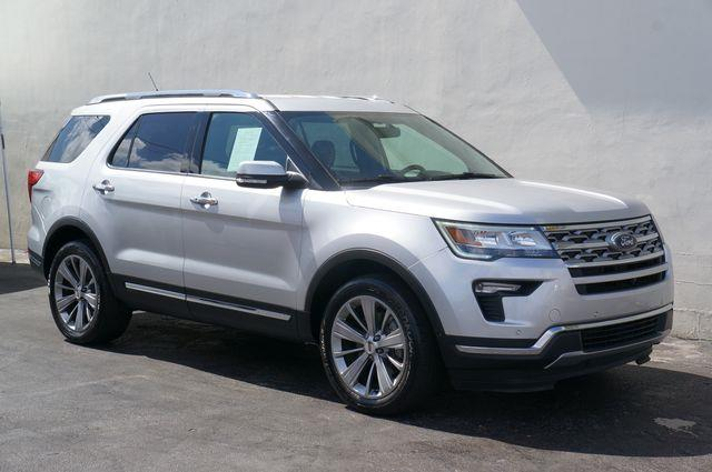 2018 Ford Explorer Limited Sport Utility 4D