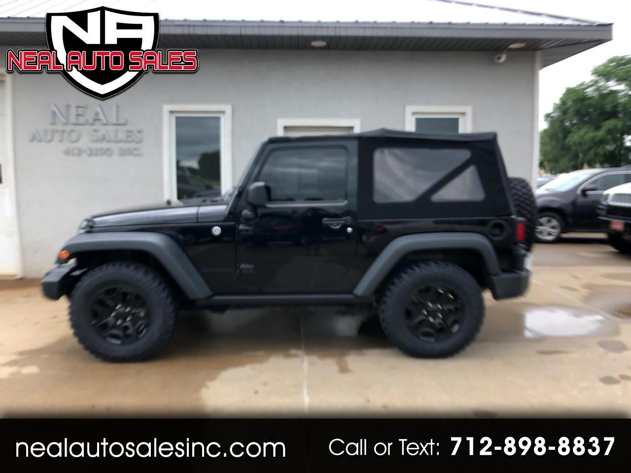 Jeep Wrangler Willys Wheeler 4x4 2014