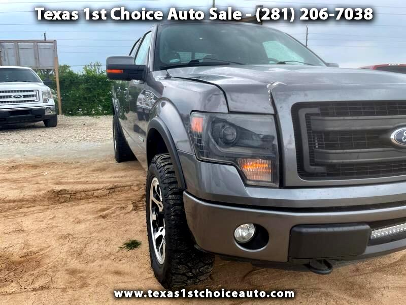 """Ford F-150 4WD SuperCrew Flareside 157"""" FX4 2014"""
