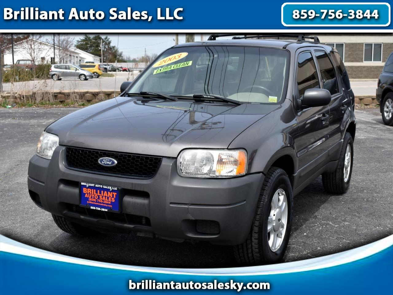 Ford Escape XLS Popular 2WD 2003