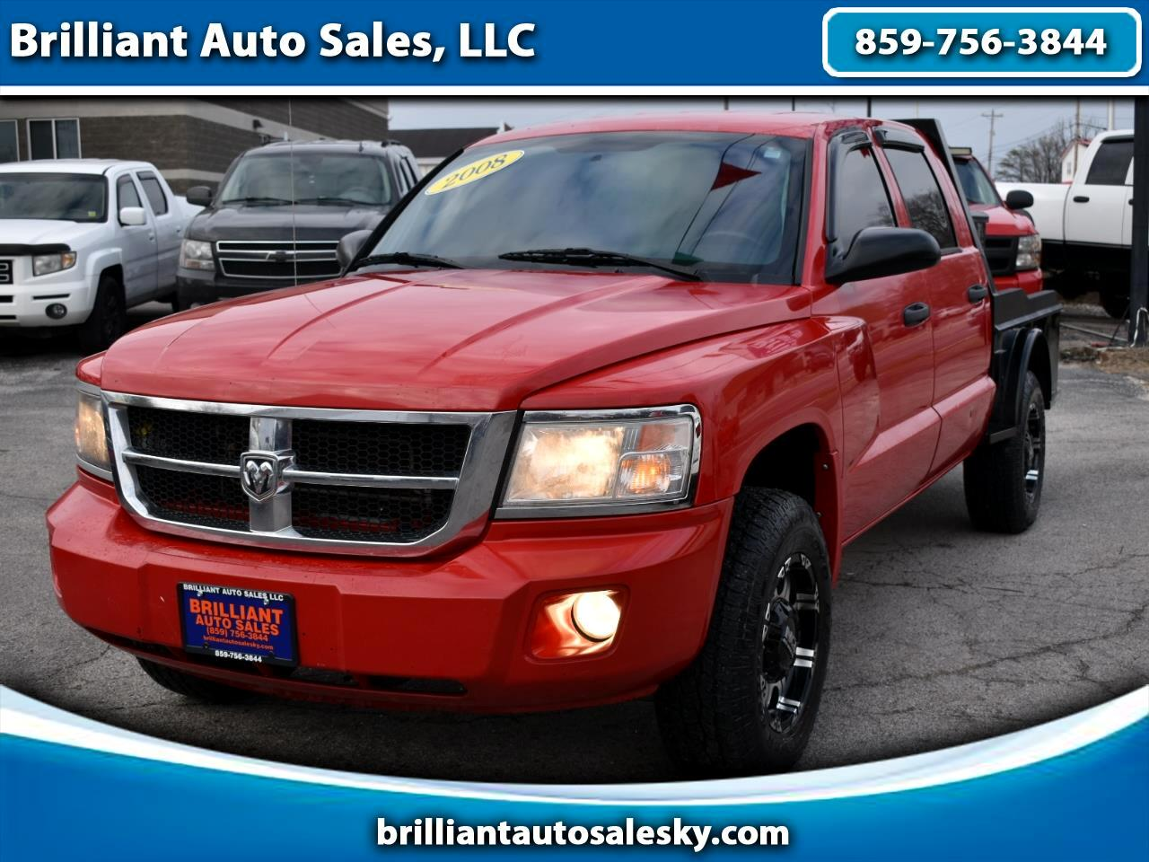 Dodge Dakota SXT Crew Cab 4WD 2008