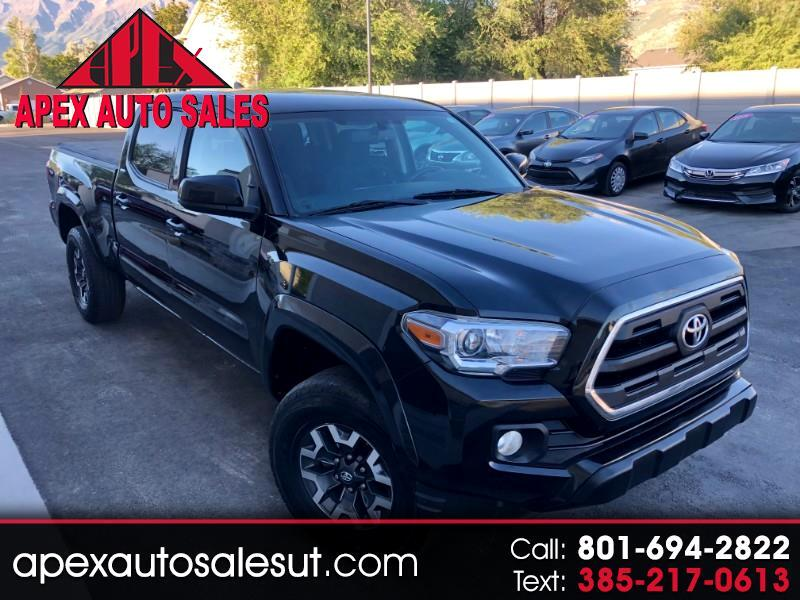 Toyota Tacoma SR5 Double Cab Super Long Bed V6 6AT 4WD 2016