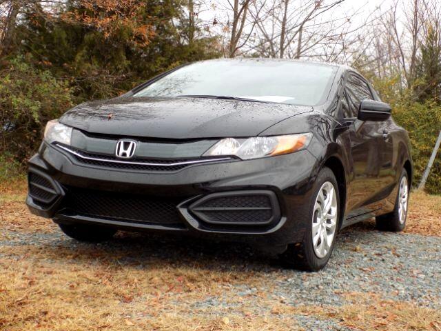 Honda Civic LX Coupe CVT 2014