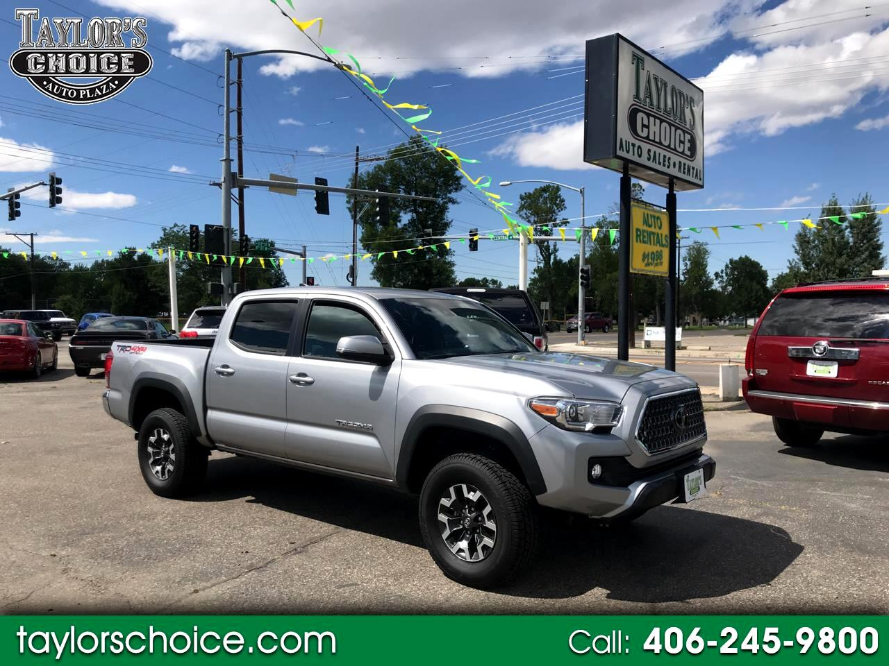 2018 Toyota Tacoma TRD Off Road Double Cab 5' Bed V6 4x2 AT (Natl)