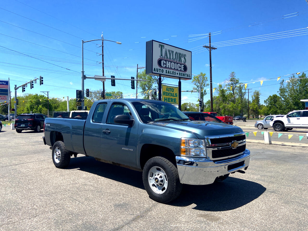"Chevrolet Silverado 2500HD 4WD Ext Cab 158.2"" Work Truck 2013"